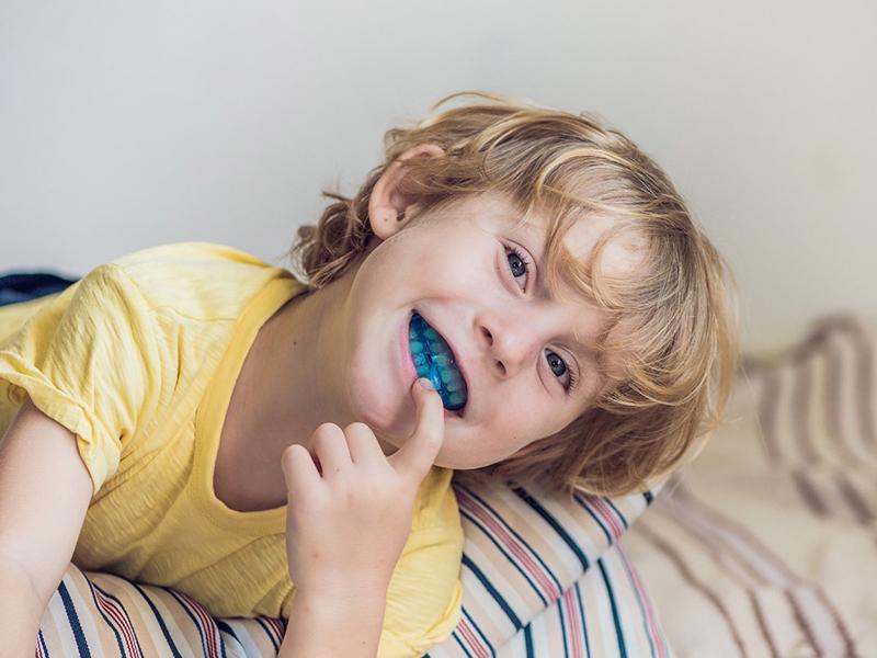 دندان قروچه کودکان